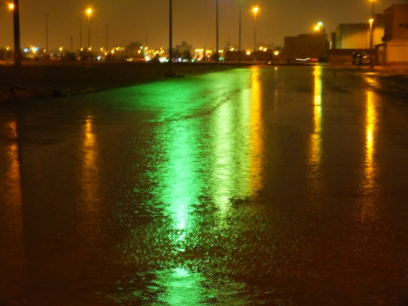 بعدستي أمطار الاحد 1435/3/4  ليلاً بمحافظة الخرج Dscf0815