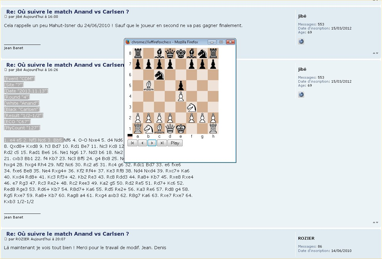 Où suivre le match Anand vs Carlsen ? Firefo10