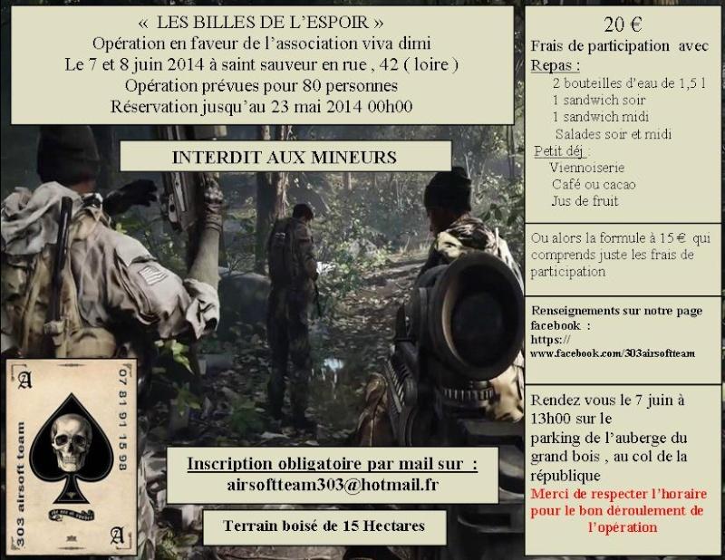 """opé """" les billes de l'espoir"""" 303 airsoft team Essai_19"""