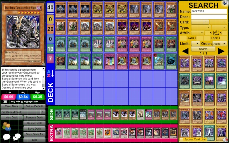 Six Sam Deck Help Zlod8c10