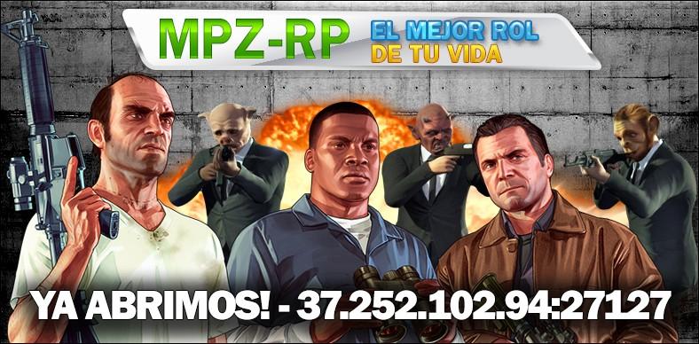 MPZ-RP Pronto, Nueva IP!!: 172.245.57.165:7160