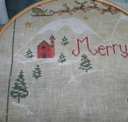 SAL Christmas Village - Sara Guermani - 15 JANVIER 2015 - DERNIER OBJECTIF !!! - Page 3 Dscf5411