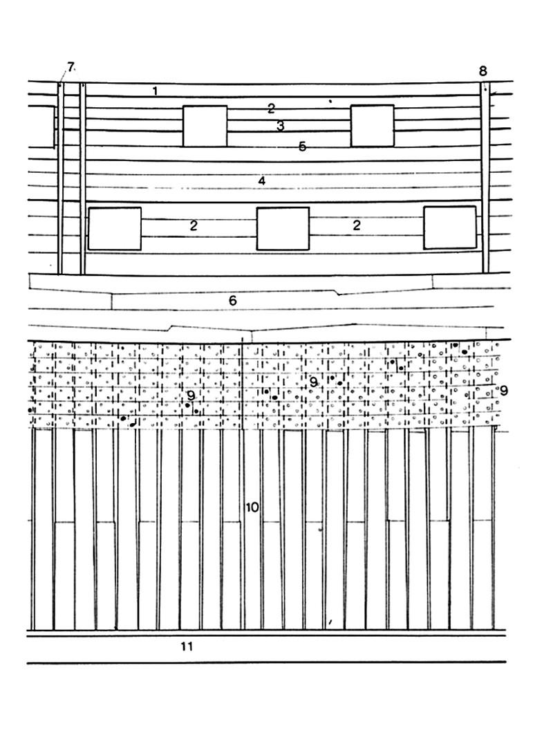 HMS Bellona 74 cannoni inglese da 168 ft. - Pagina 8 Planch10