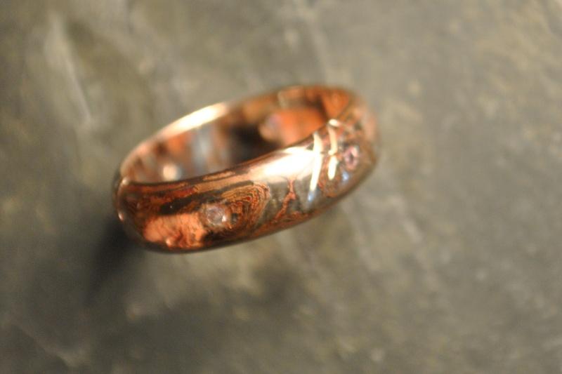 Mokume gane Argent et cuivre Csc_0011
