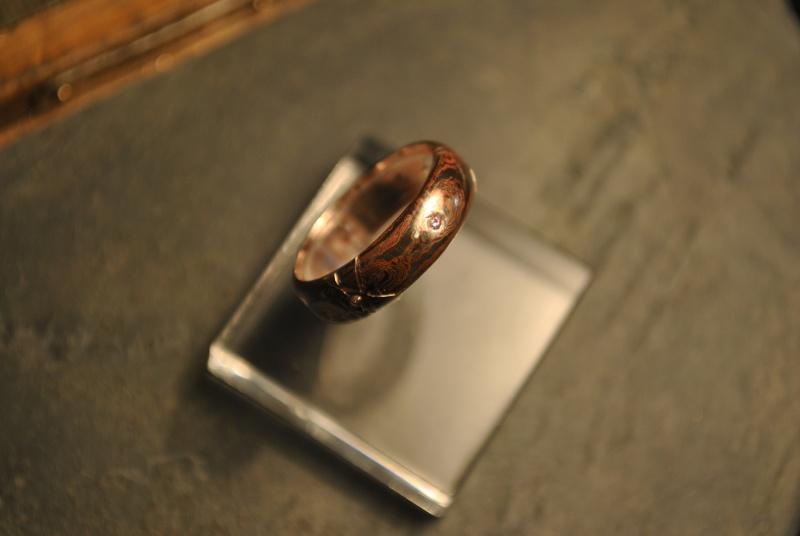 Mokume gane Argent et cuivre Dsc_0035