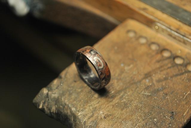 Mokume gane Argent et cuivre Dsc_0037