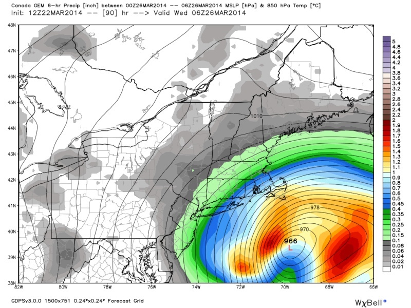 March 25th-26th Possible Coastal Storm Potential 2.0 - Page 3 Cmc_pr14