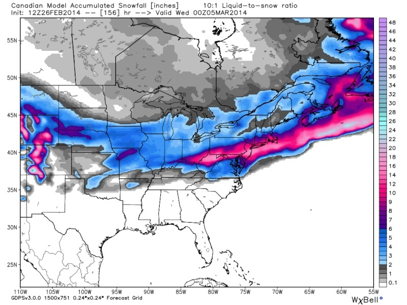 March 2nd-4th Potential Snowstorm  - Page 2 Cmc_sn11
