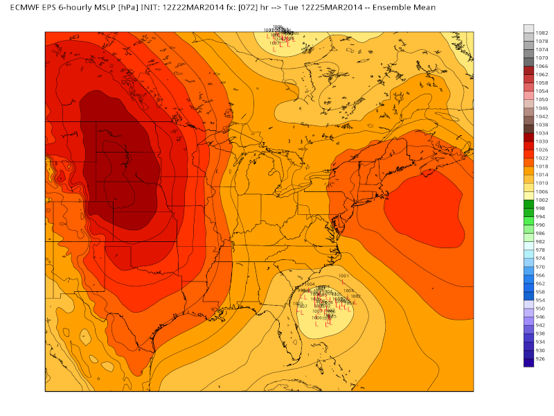 March 25th-26th Possible Coastal Storm Potential 2.0 - Page 6 Eps_sl11
