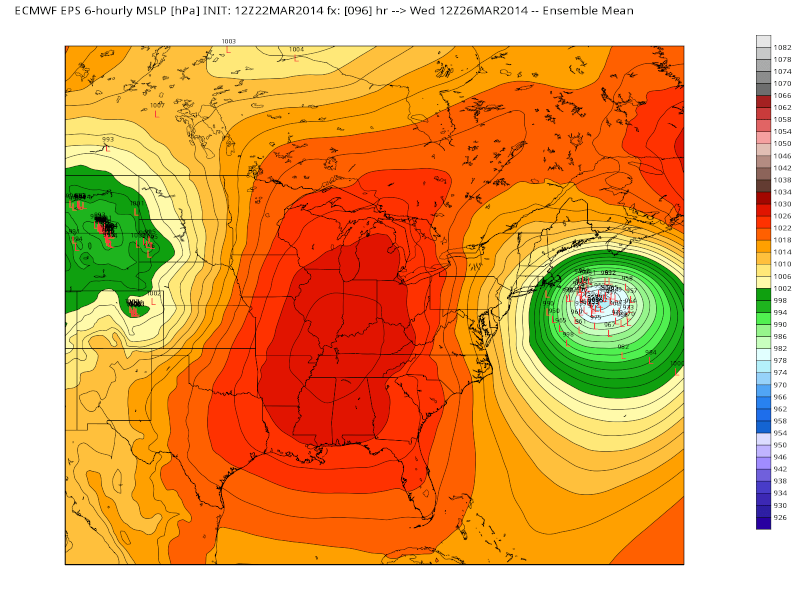 March 25th-26th Possible Coastal Storm Potential 2.0 - Page 6 Eps_sl14