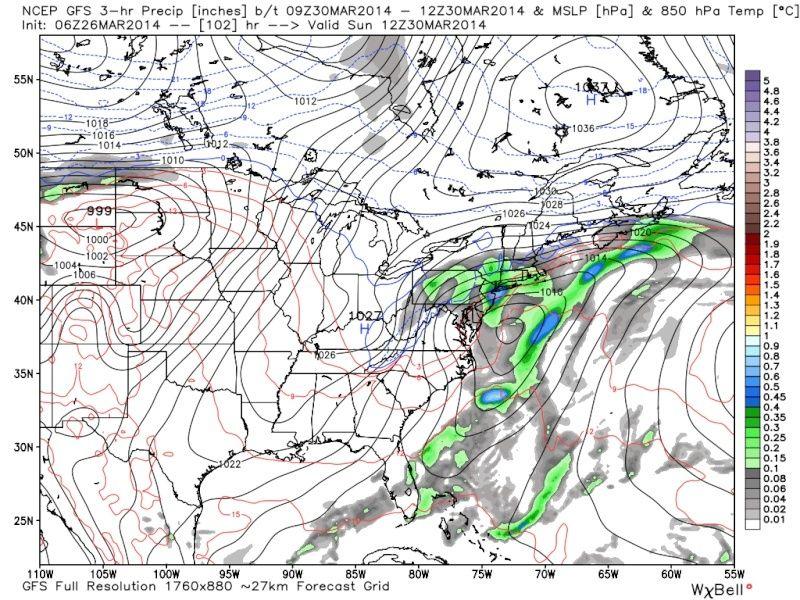 March 28-31st Possible Rain Storm Gfs_pr23
