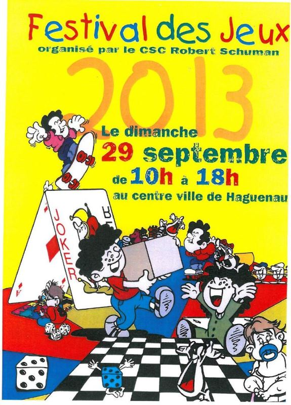 Mah-Jong à Haguenau Affich13