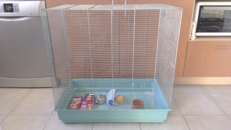 Deux grandes cages (equivalent Furet et Furet XL) + accessoires Imag1911