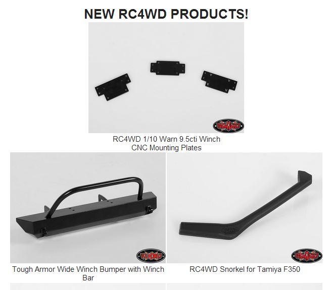 News de Février 2014 chez RC4WD C111