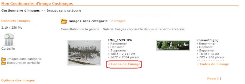 Tutoriel pour poster une image ou photo avec Servimg et Casimage Casima19