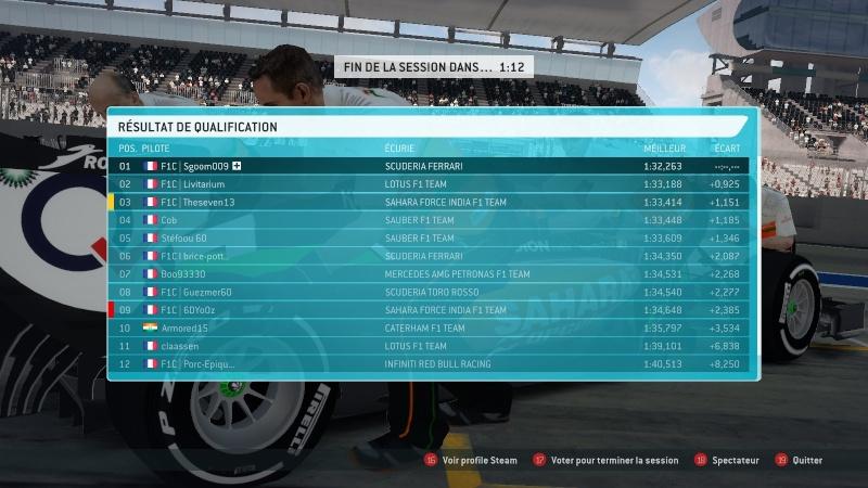 F1C - GP n°4 JAPON Qualif23