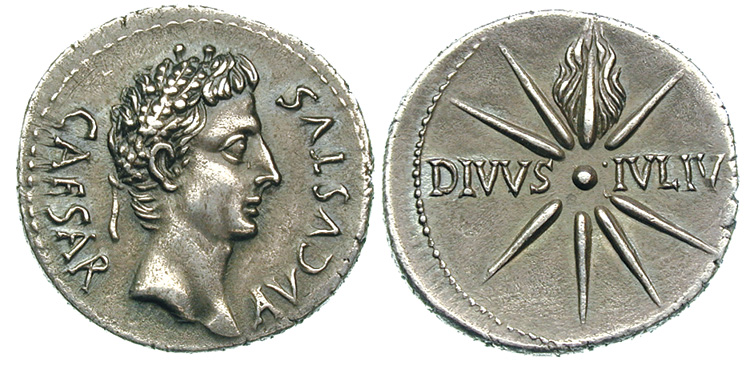 Les monnaies anonymes des guerres civiles 68/69 AD - Page 2 August10