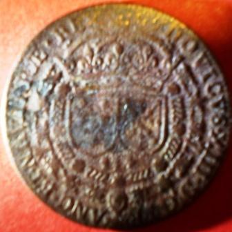 """Jeton Louis XIII """"DONEC PABVLVM DEFICIAT"""" A16"""