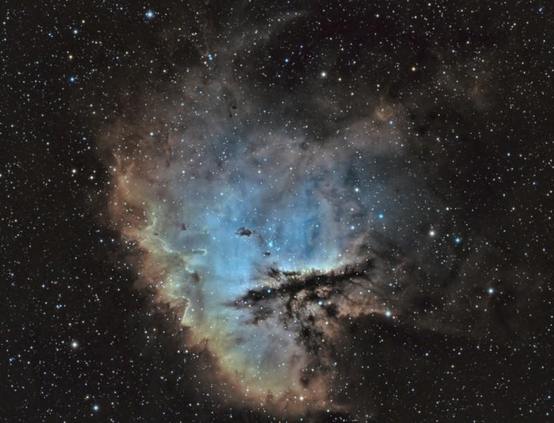 NGC281 ou nébuleuse Pacman Ngc28111