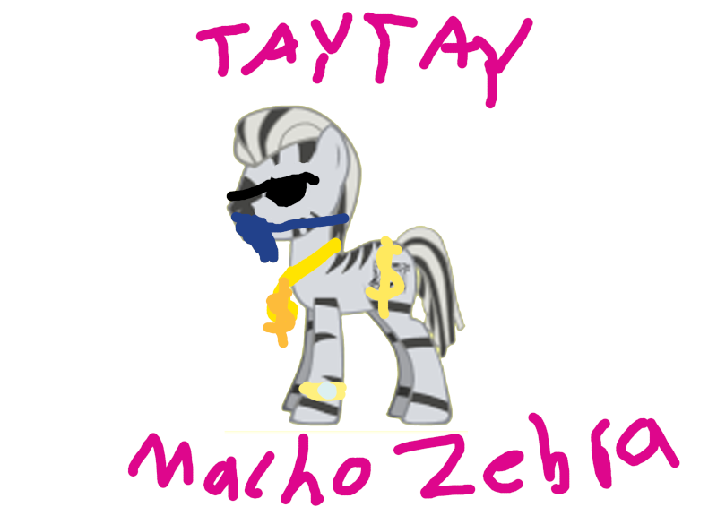 TayTay is macho zebra Macho_10