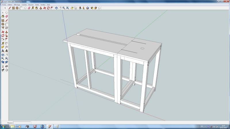 realisation bureau-etabli-table defonceuse Table210