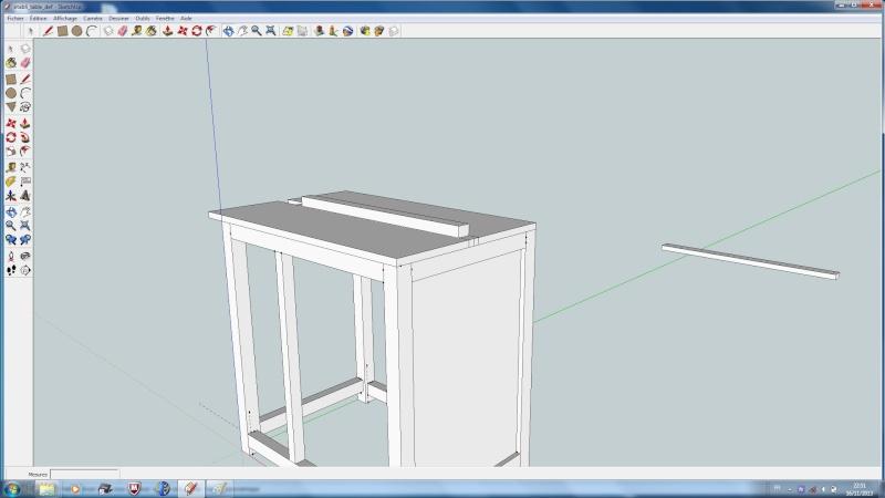 realisation bureau-etabli-table defonceuse Table510