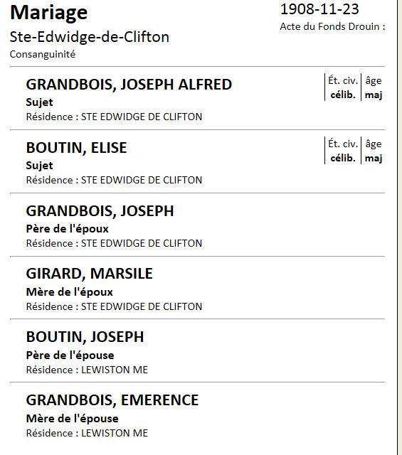 Grandbois X Girard. Joseph13