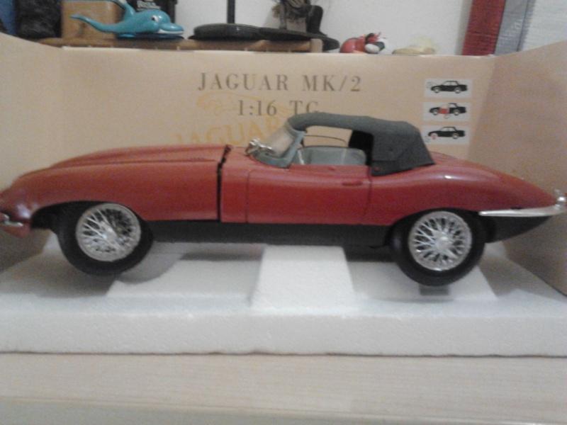 VENDO Jaguar MK/2 Rossa Scala 1:16 TONKA-POLISTIL  2013-112