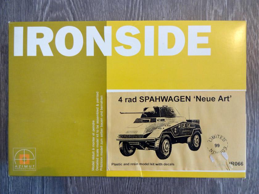 4 Rad Spähwagen Neue Art [ IRONSIDE 1/35° ]  (Diorama terminé!!!) Dsc00010