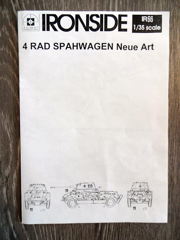 4 Rad Spähwagen Neue Art [ IRONSIDE 1/35° ]  (Diorama terminé!!!) Dsc00011
