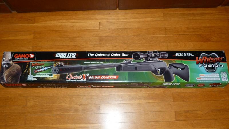 Ma nouvelle carabine: Gamo Whisper Fusion IGT version US P1020718