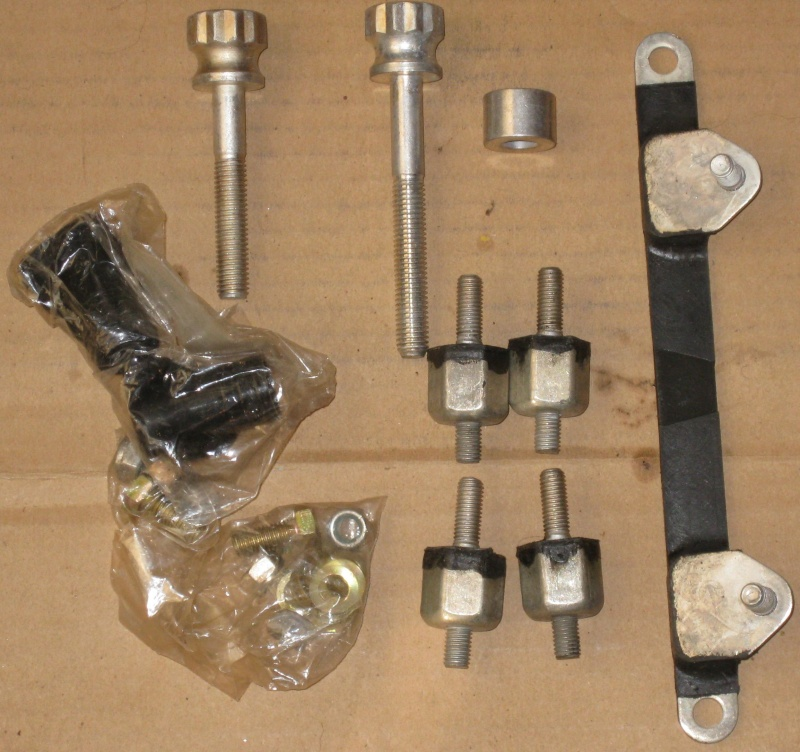 Sold- No longer available NOS K100 Engine Protection Bars w/ mounting HW K100ba12