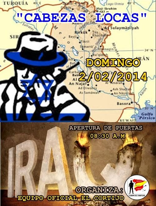 """PARTIDA ABIERTA """"CABEZAS LOCAS"""" DOMINGO 02-02-2014 EN EL CORTIJO Iraq-i10"""