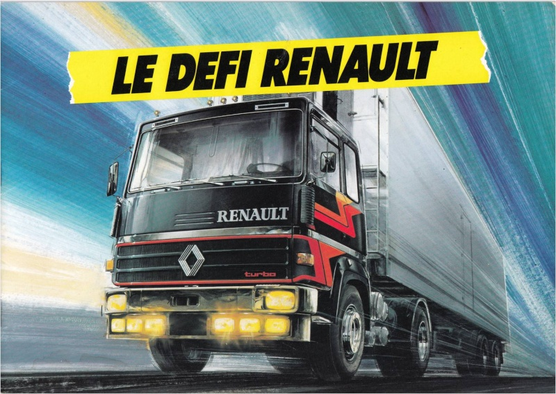 Pub et catalogues RENAULT....les camions Defi_110