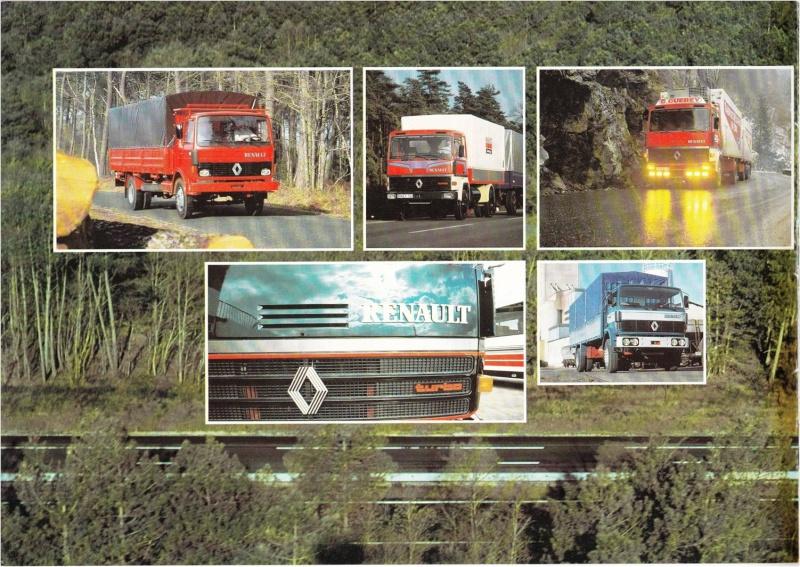 Pub et catalogues RENAULT....les camions Defi_210