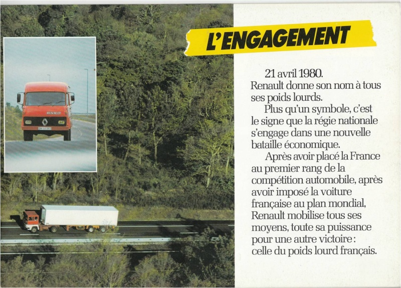 Pub et catalogues RENAULT....les camions Defi_310