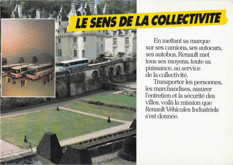 Pub et catalogues RENAULT....les camions Defi_710