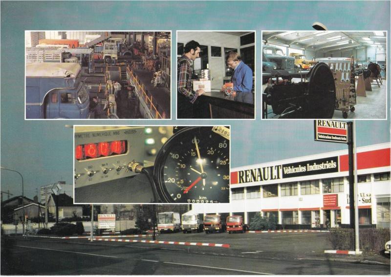 Pub et catalogues RENAULT....les camions Defi_810