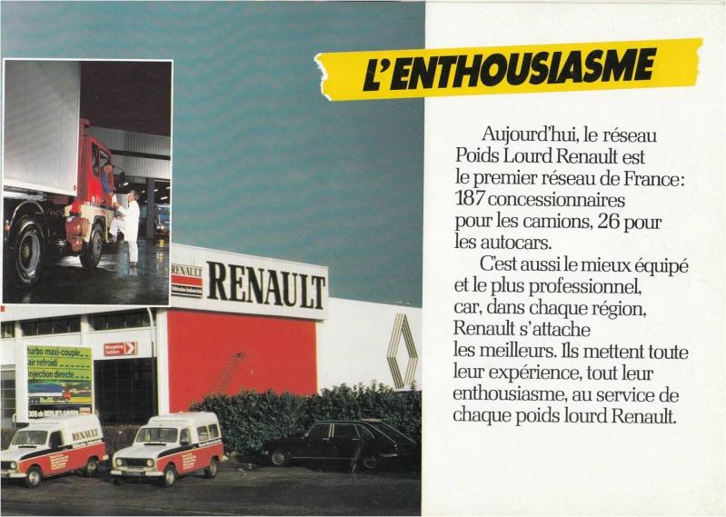 Pub et catalogues RENAULT....les camions Defi_910