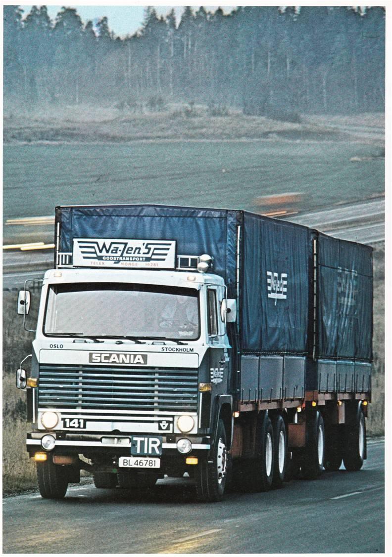Pub et catalogues SCANIA Scania12