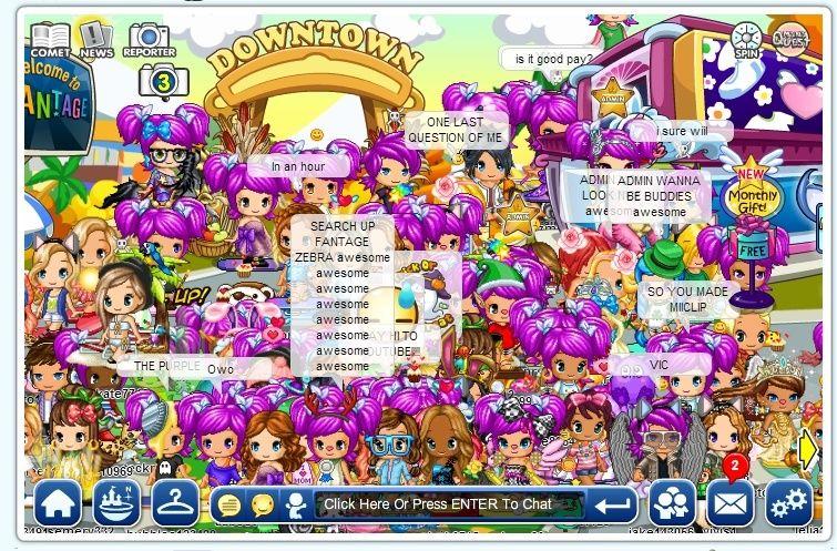 Purple Party LOL Crazy11