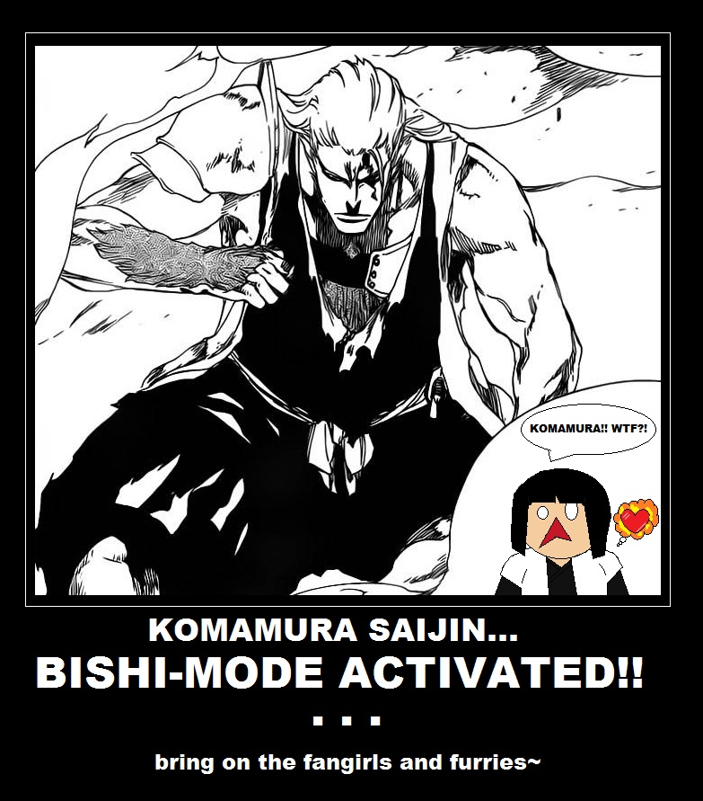 In the Latest Issues of BLEACH... Komawt10
