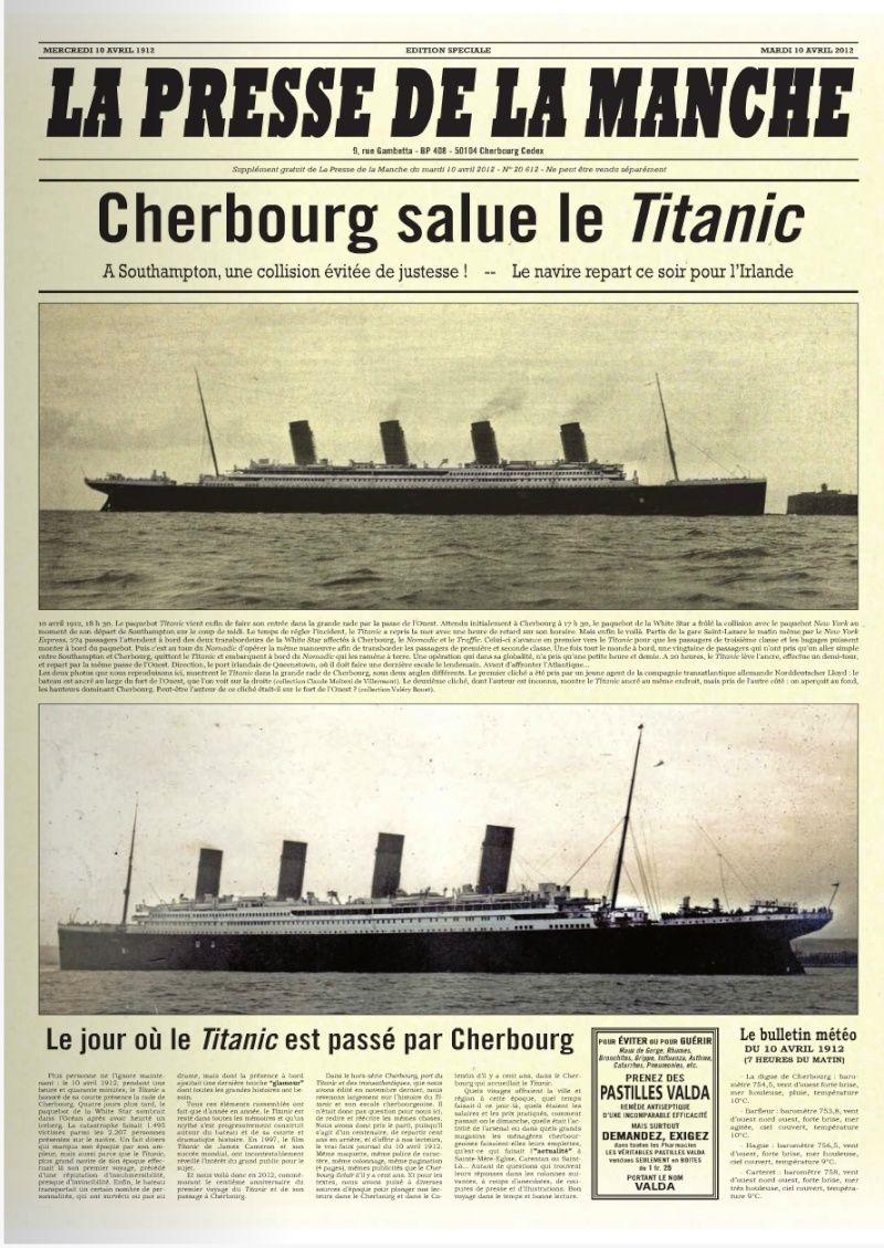 Les articles de journaux sur le naufrage du TITANIC 10_04_10