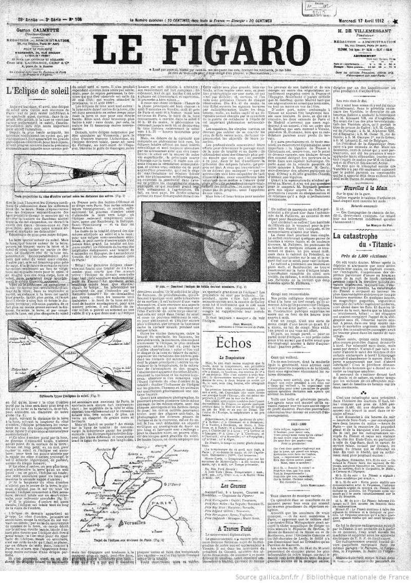 Les articles de journaux sur le naufrage du TITANIC 17_04_10
