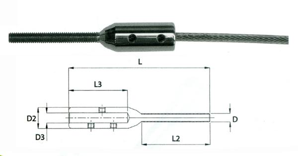 demande avis sur cable en inox pour descente escalier 22080x10