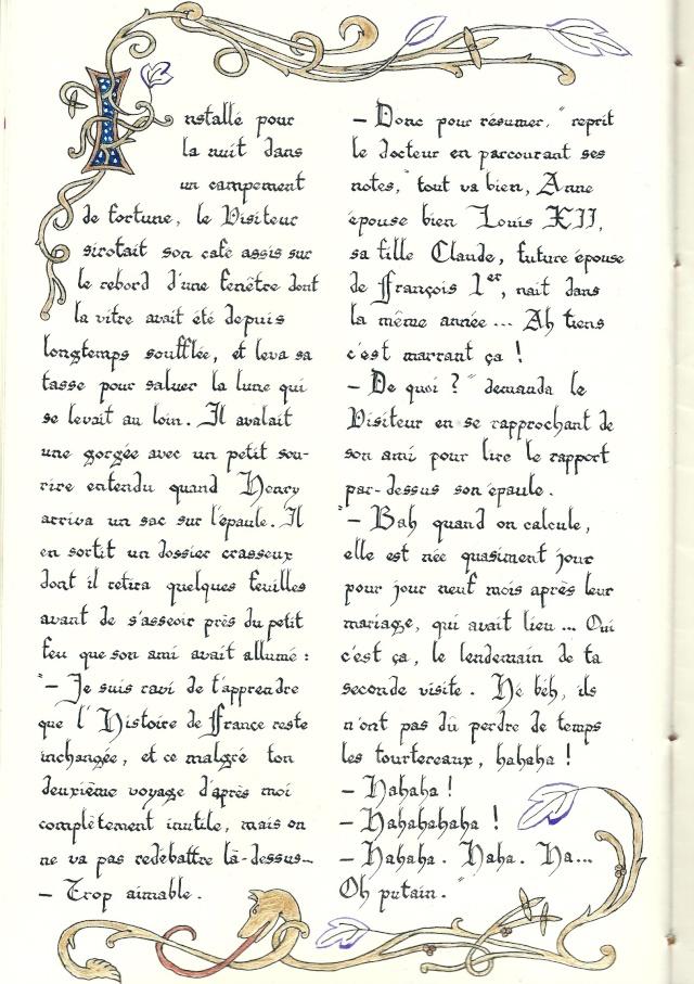 [Fan-fiction] Le VdR I - Le Visiteur de la Reine (-16) - Page 6 Manusc27