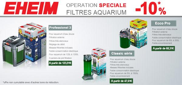 Promo -10% sur les filtres Eheim Classic, Pro3 et Ecco Pro Pumpe-11
