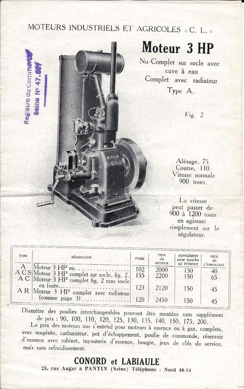 moteur cl type a