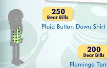 Plaid Button-Down Shirt Item_519