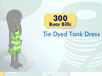Tie Dyed Tank Dress Item_613